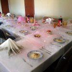 Nakrycie stołu Hotelik gwardia Koszalin