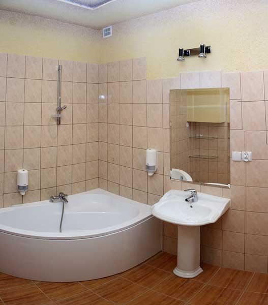 Łazienka Koszalin Hotelik Gwardia