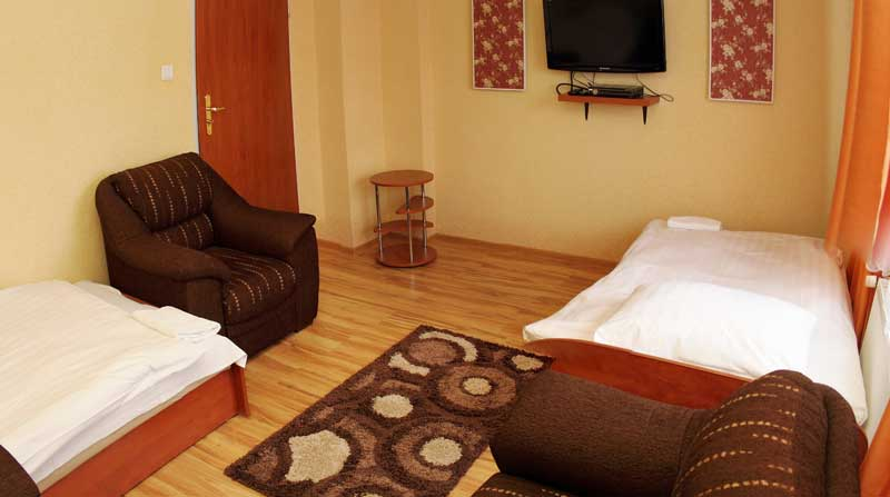 pokój dwuosobowy Hotelik Koszalin