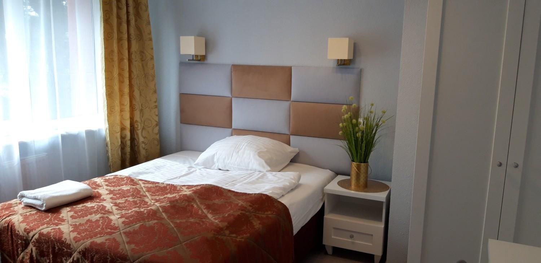 Łóźko w hotelu